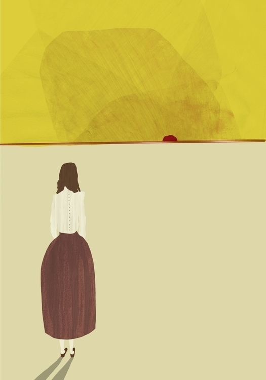 yellow, sunset, figure - charlottekingstonlarson | ello