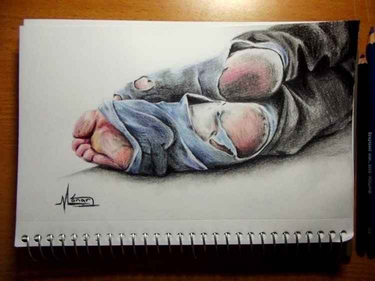 fineart, drawing, art, realistic - manarshouli | ello