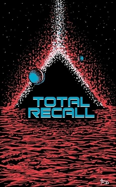 Total Recall - Art poster 1990  - francescodibattista | ello