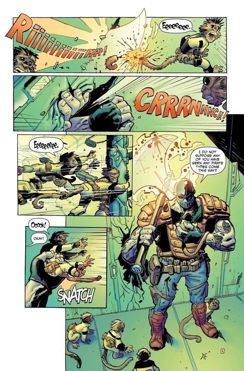 killjoy 4 - #spaceship#space#spaceman#comics#spacepirates - jovanukropina   ello