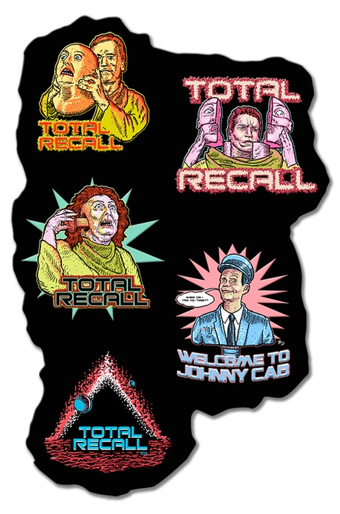 Total Recall - Sticker Design 1 - francescodibattista | ello
