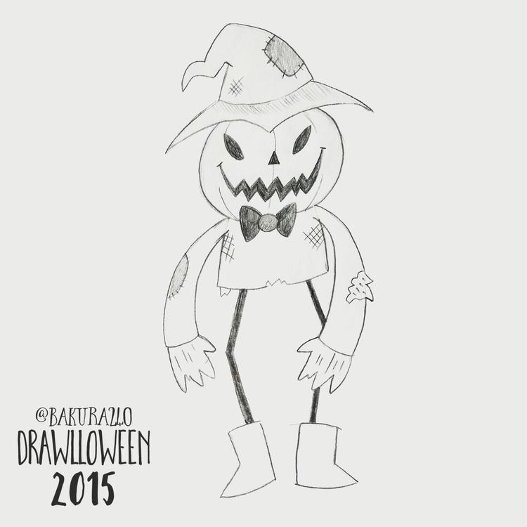 29 - Scarecrow - scarecrow, sketch - clairestamper | ello