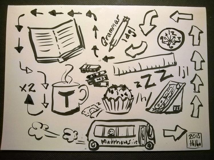Bus doodle - superhilbo | ello