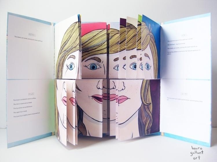 Mix Match Emotions Pen Ink, Dig - lgallantart | ello