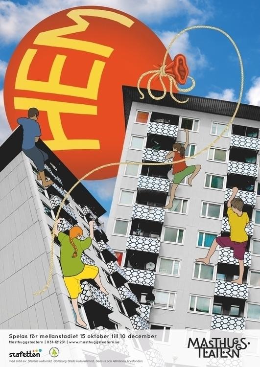 Poster play HEM (Home) Masthugg - feliciafortes | ello
