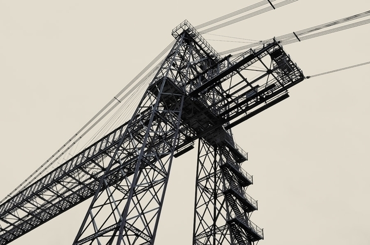 transporter bridge Newport - photography - fotografpm | ello