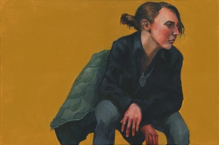 April 5 (Catherine - painting, female - mattcauley | ello