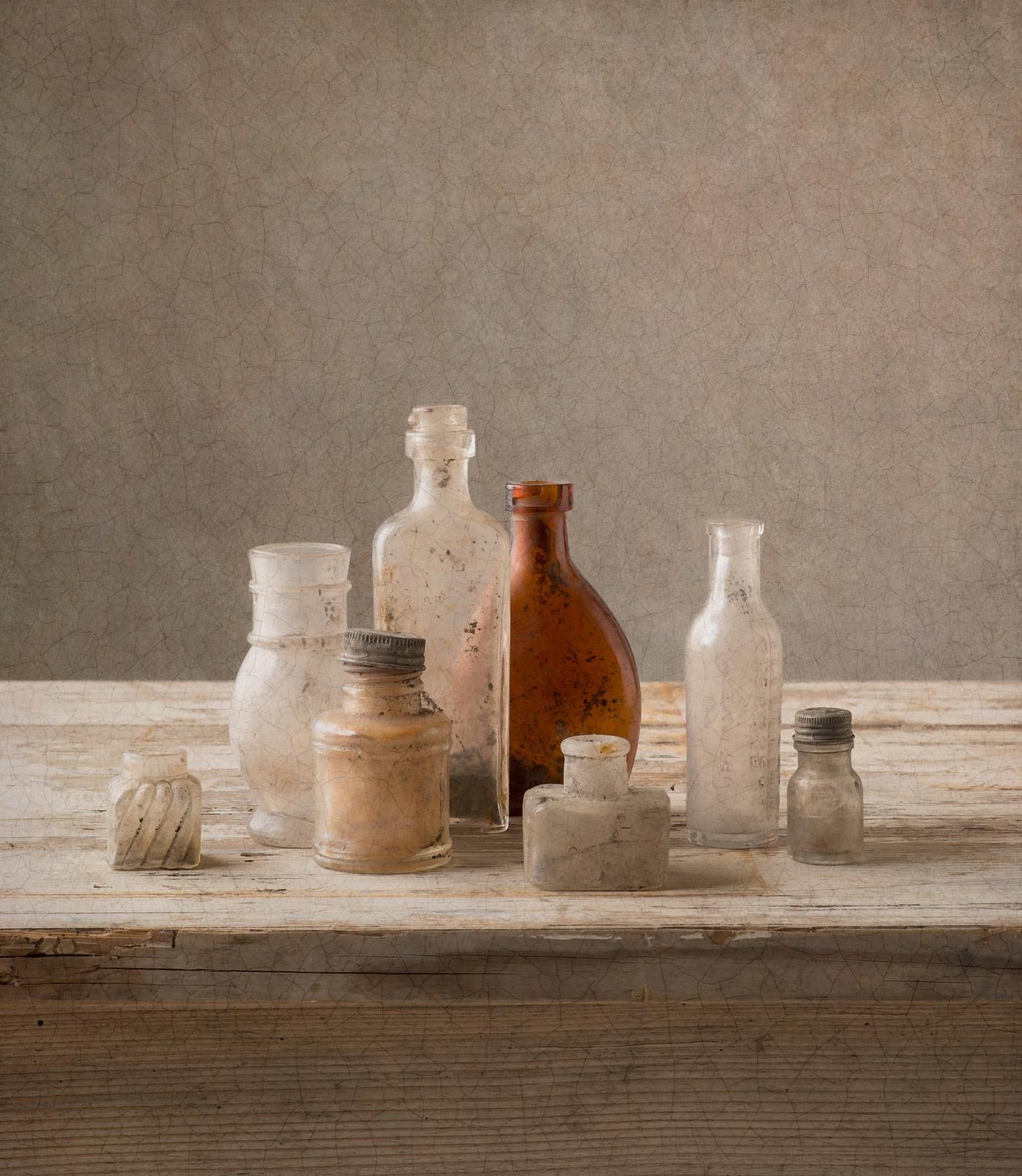 Au Vert Pré - vintage, bottles, french - tinekestoffels | ello