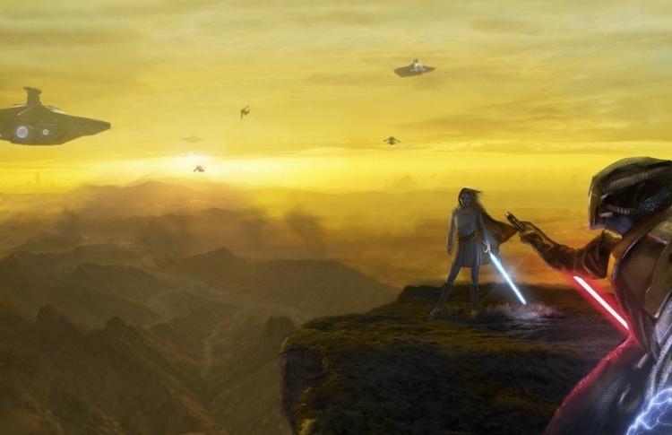 Jedi Sith, blow - illustration, characterdesign - urimatveg   ello