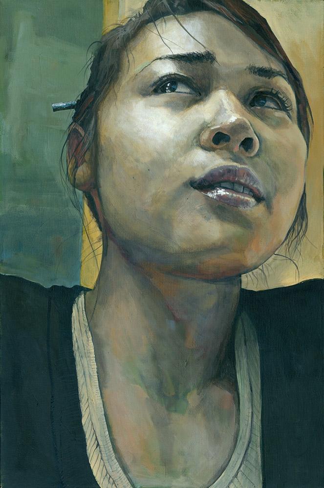 Mia Acrylic canvas | 20 30 inch - mattcauley | ello