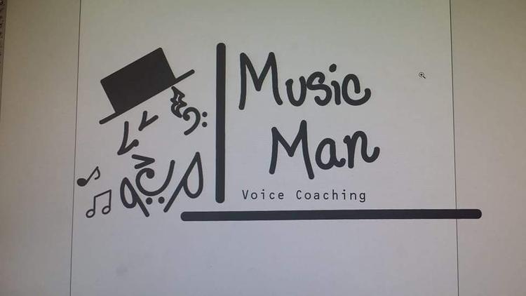 Music Man, Logo Illustration - littleduffer20   ello