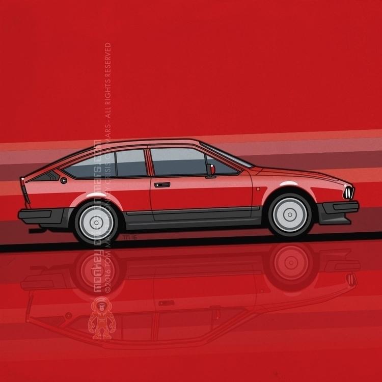 Alfa Romeo GTV6 Tom Mayer, Monk - monkeycrisisonmars | ello