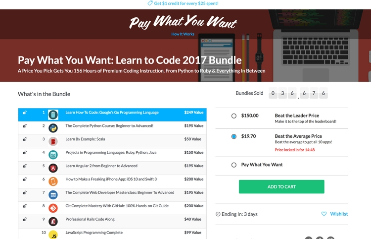Learn Code $20 - jbcavalier | ello