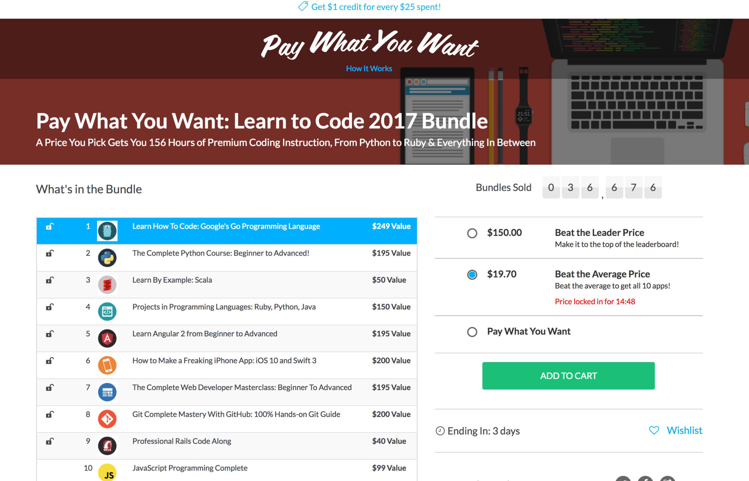 Learn Code $20 - jbcavalier   ello