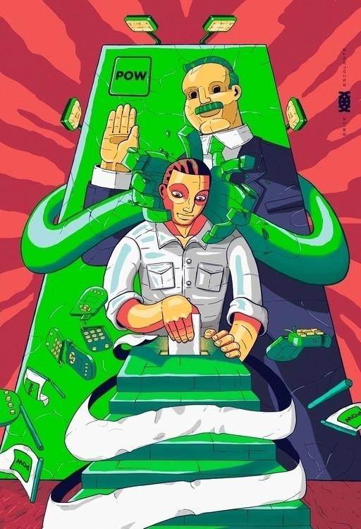 ilustration, mexico, vote, government - erick_escalante | ello