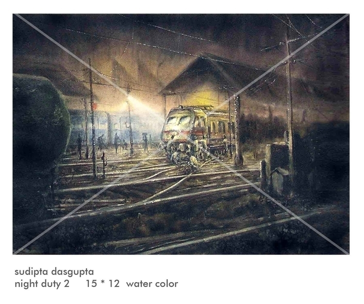 Watercolor - dasguptarts | ello