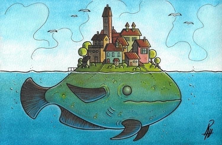 home - illustration, painting, traditionalart - marcorizzi-1205 | ello