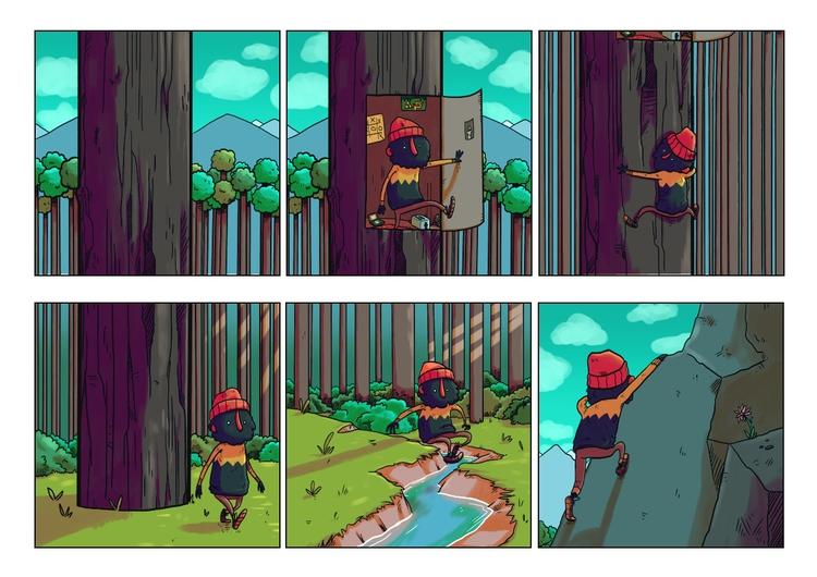 page 1 - blackbeard, comic, adventure - indiana_jonas | ello