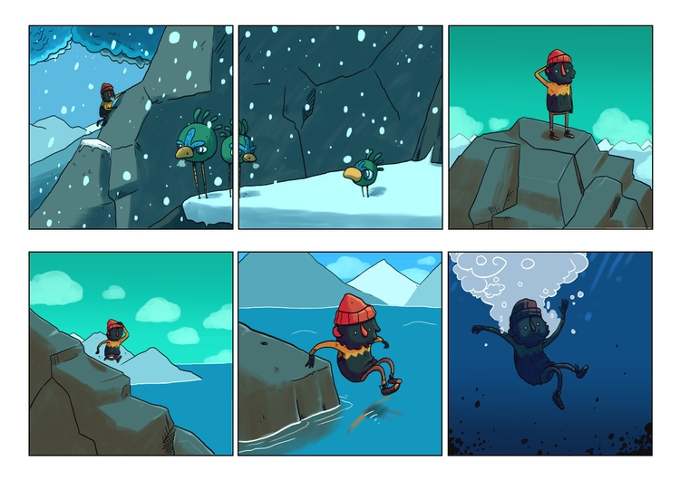 page 2 - blackbeard, comic, adventure - indiana_jonas | ello