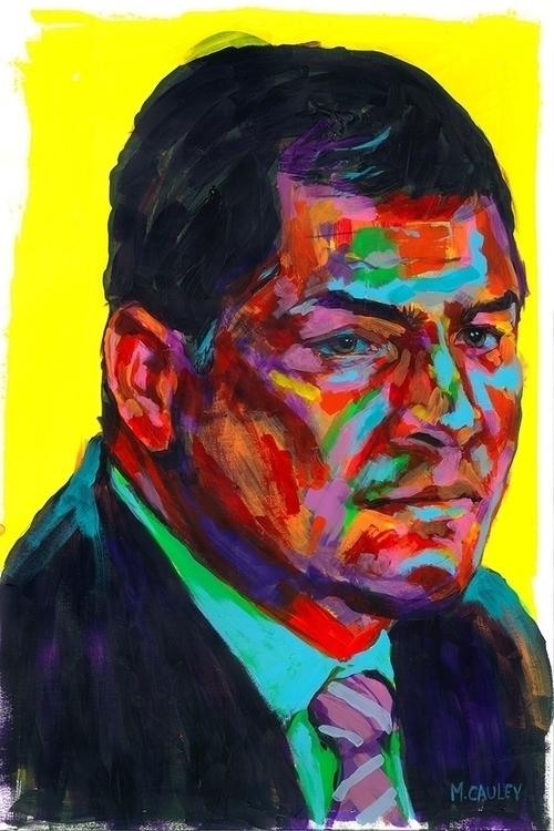Rafael Correa, President Ecuado - mattcauley | ello
