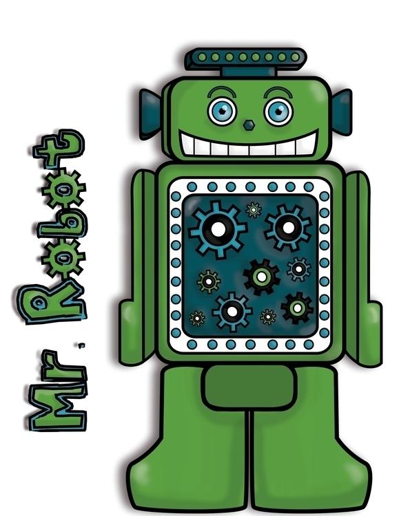Robot Nuts Family - #characterdesign - linalejandrapm | ello