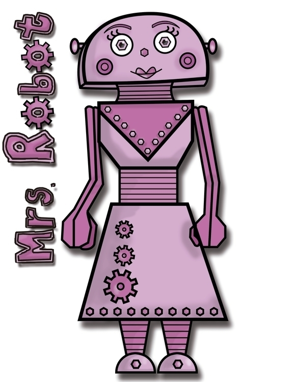 Robot Nuts Family - pink, female - linalejandrapm | ello