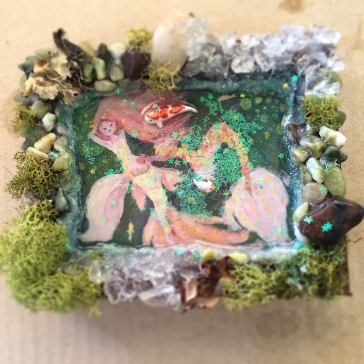 Koi Mermaids Pond! Etsy - mermaid - katiagrifols | ello