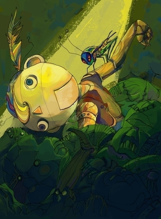 Pinocchio - puppet, cricket, pile - jramseyi | ello