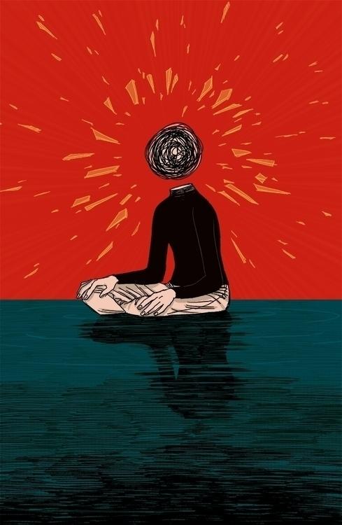Shattered - illustration - awrugro | ello