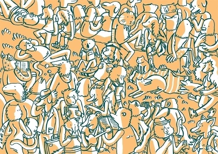illustration, art, animals, comics - annakrzton   ello
