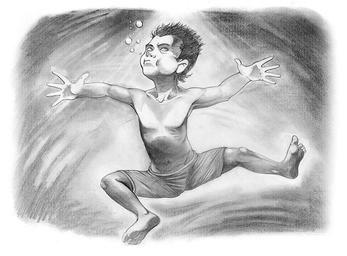 young diver. book 4 favole bamb - comicsoon   ello