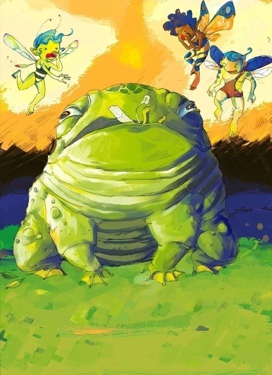 frog big small - Frog, fairy, pixie - jramseyi | ello