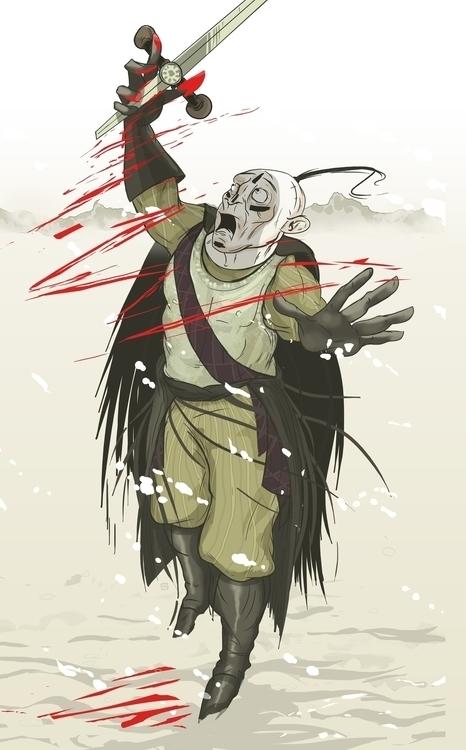 lives sword dies sword' / clien - theroyalbubblemaker | ello