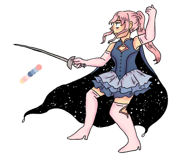 magical girl design - magicalgirl - norathebean | ello
