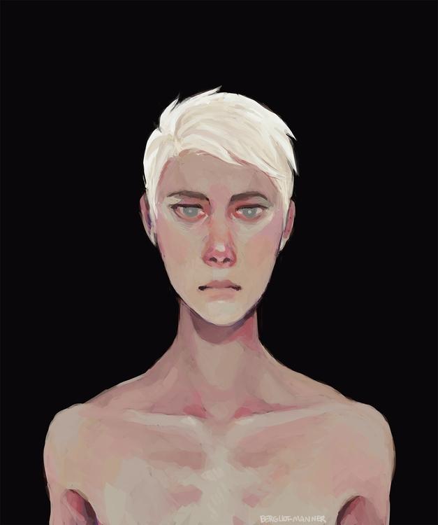 painting, characterdesign, androgynous - angieroselli | ello