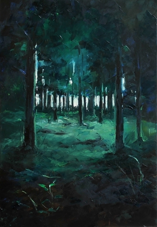 Grimm - forest, dark, trees, green - lanamarandina | ello