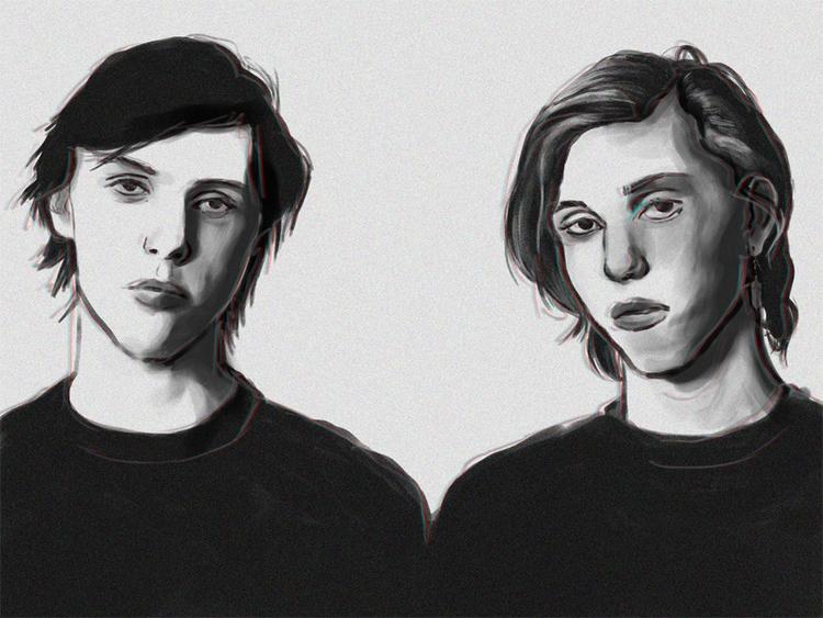 thegarden, music, punk, illustration - keit | ello