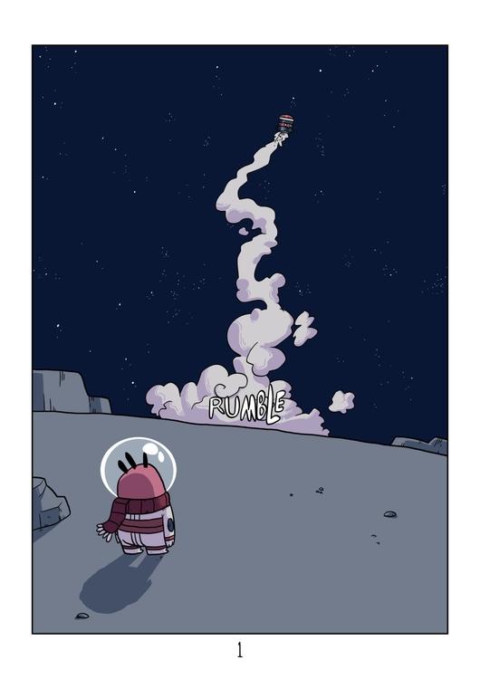 page 1 - emptyplanet, comic, space - indiana_jonas | ello
