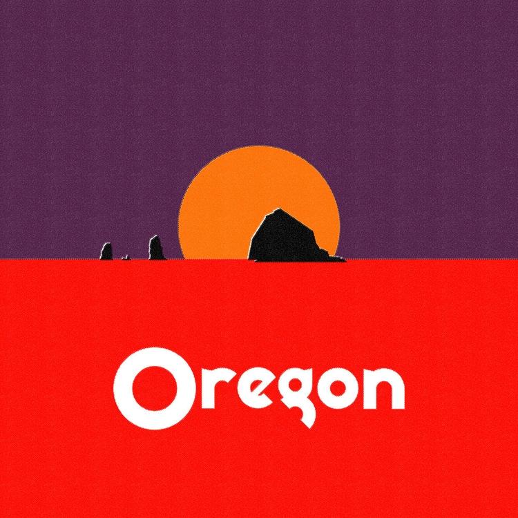 oregon, cannonbeach, illustration - buchino-1190 | ello