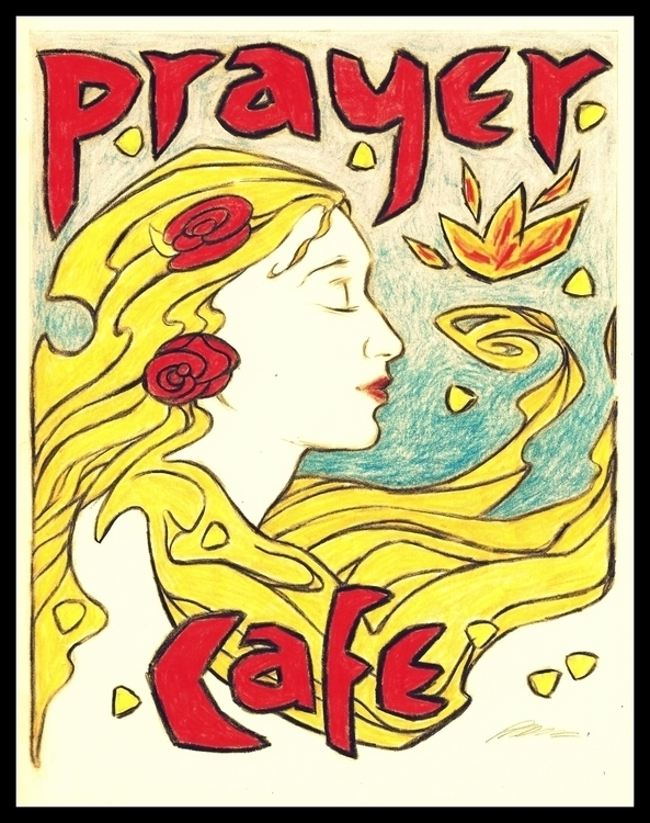 Prayer Cafe - christian, poster - philmac-1244 | ello