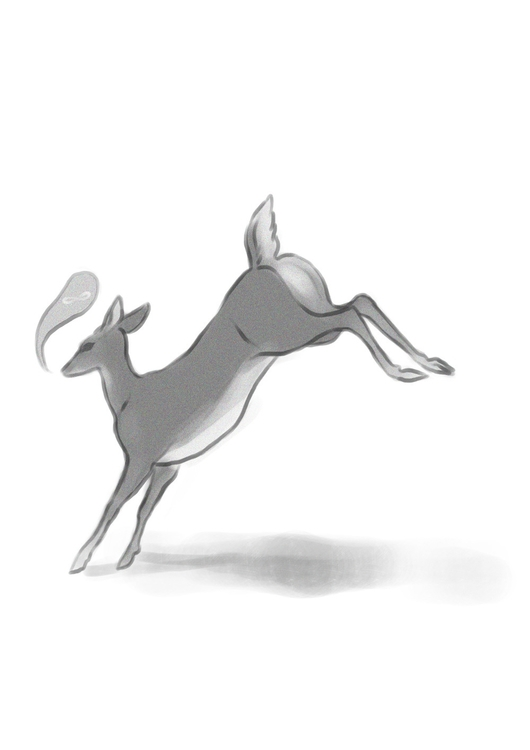 deer, animals, illustration, keit - keit   ello