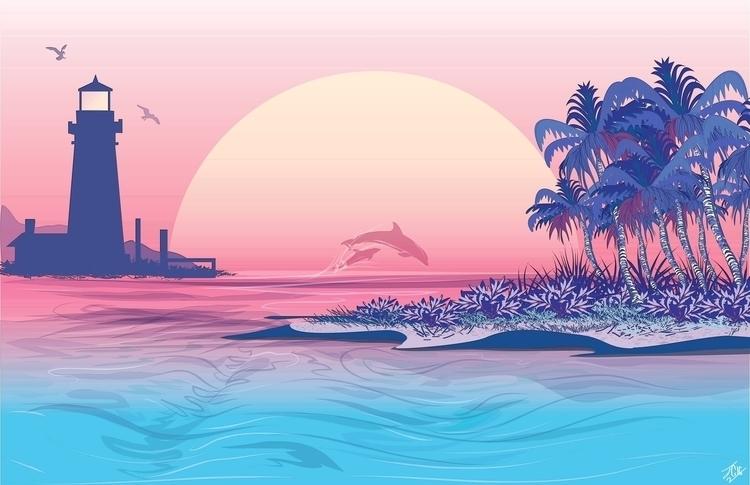 Island Getaway--Created Adobe i - jessieg-1223 | ello