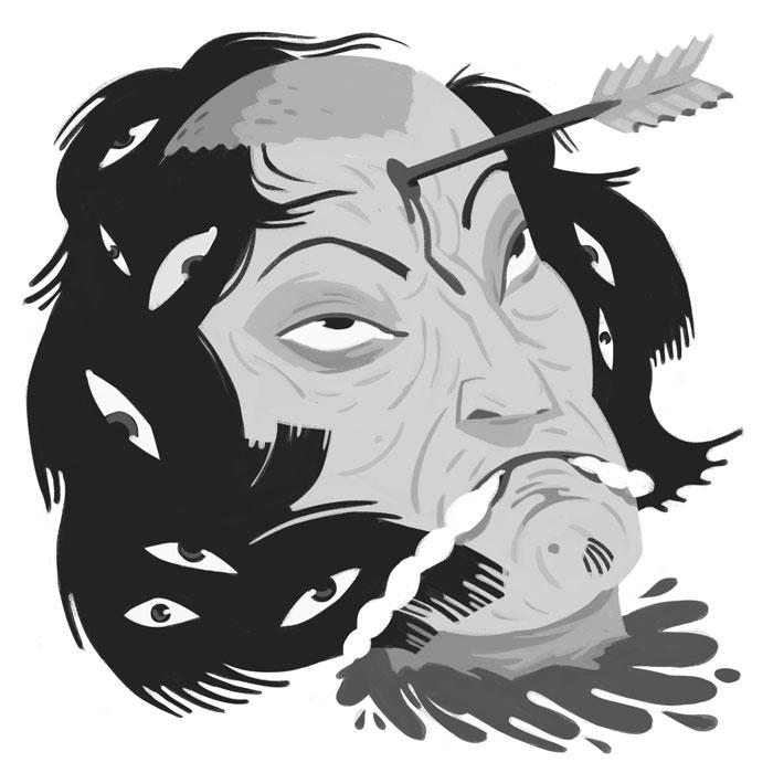 namakubi - art, illustration, digitalart - johnstarr-5395 | ello