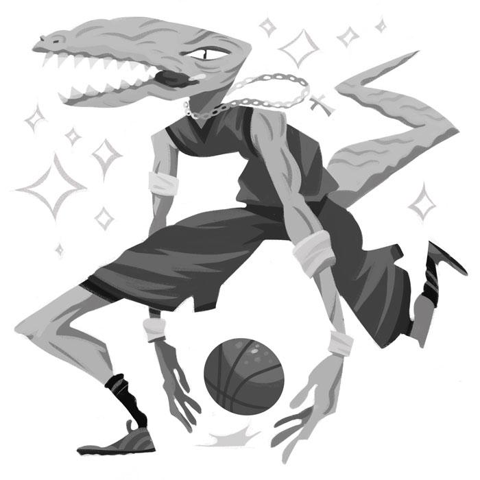 Baller - art, illustration, digitalart - johnstarr-5395 | ello