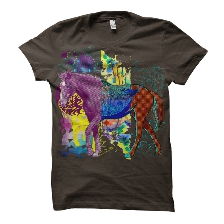 Crazy Horse - crazy, horse, psychedelic - liviumatei | ello