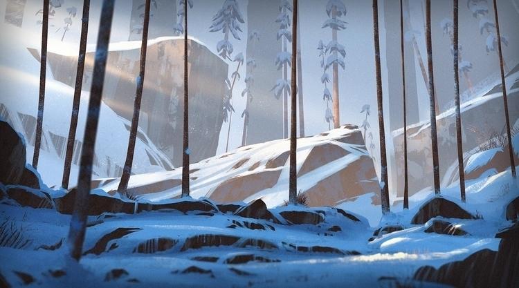 Forest Snow - environment - henrik-5947 | ello