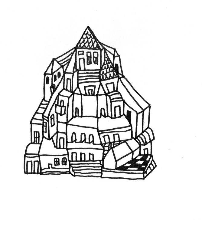 Imaginary houses. Scans sketchb - kejto | ello