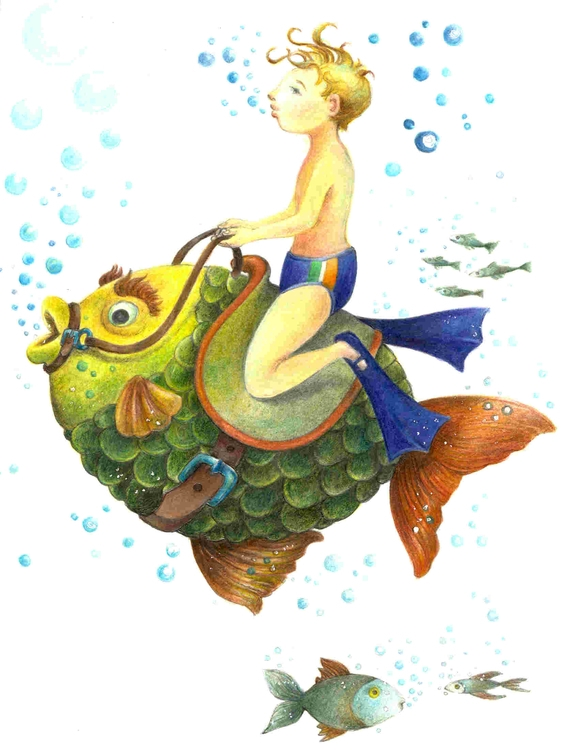 Fish Boy - fish, boy - dorianostrologo | ello
