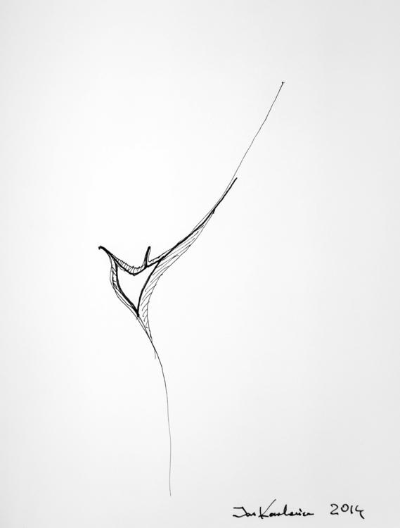 minimal Artpen + black marker,  - jandraws | ello
