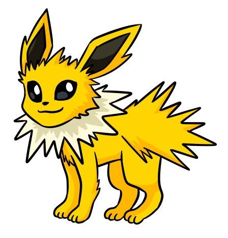 Jolteon - jolteon, pokemon - flowerbanana | ello